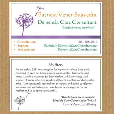 Business Cards Consultant Design Portfolio