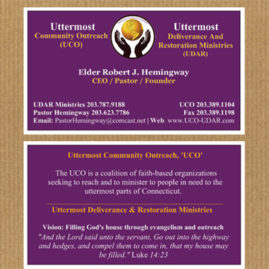 Church / Pastor Business Cards