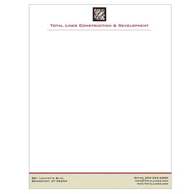 Letterhead construction company design portfolio letterhead construction company altavistaventures Images