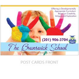 Post Cards Design | School