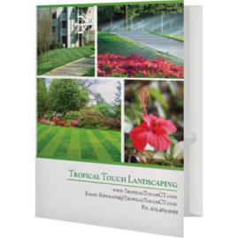 Presentation Folders Landscaping Company