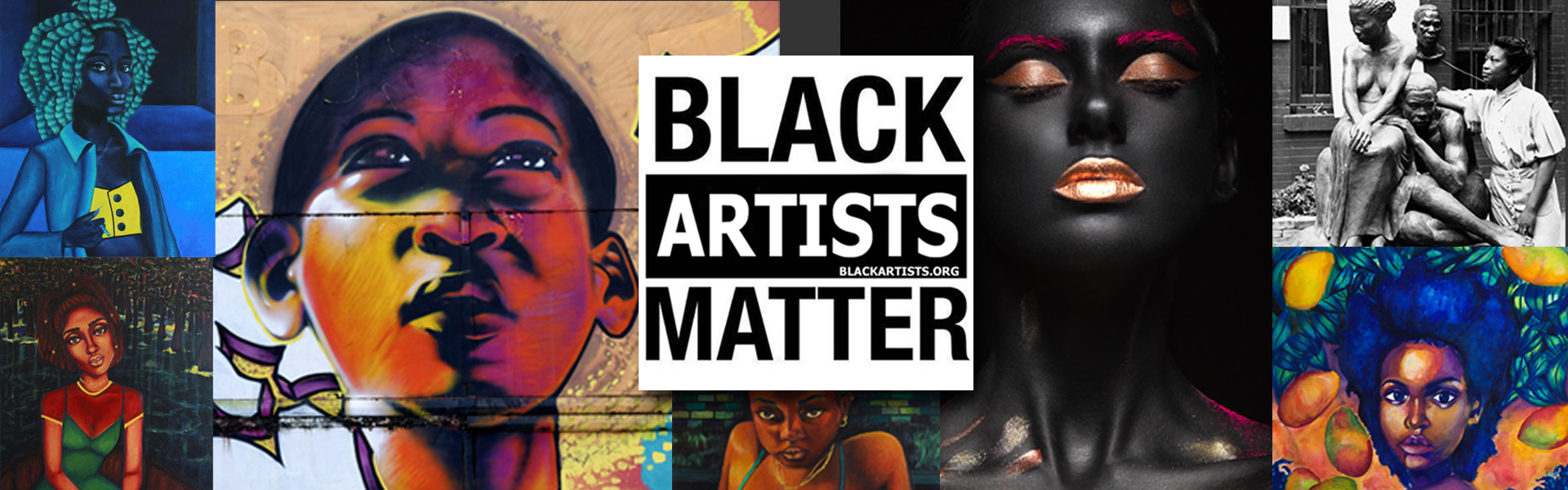 Black Artists Website Design by Tristate Business Solutions