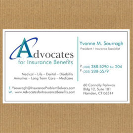Business cards design portfolio business cards insurance company colourmoves Gallery