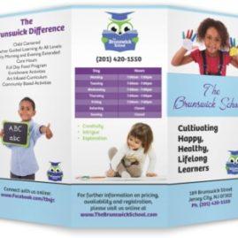 Tri fold Brochures – School