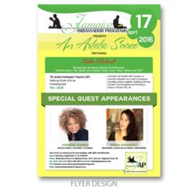 Flyer Design | Jamaica Ambassador Programs