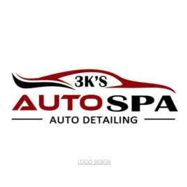 Logo Design 3K's Auto Spa