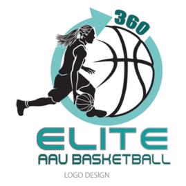 Logo Design Elite AAU Basketball