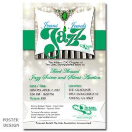 Poster Design \ Jeans Jewels Jazz