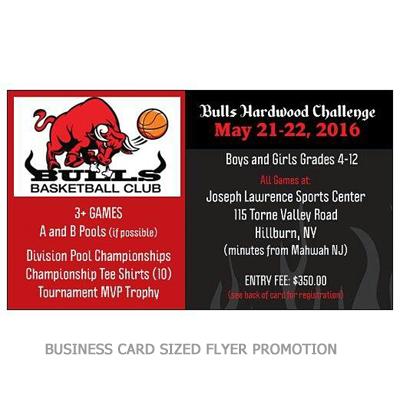 Business card sized flyer design design portfolio business card sized flyer design colourmoves